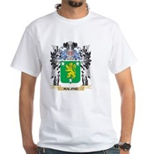 Malone Coat of Arms - Family Cr T-Shirt