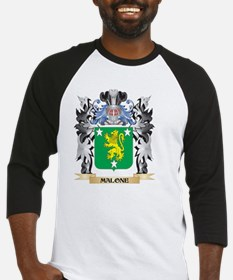 Malone Coat of Arms - Family Crest Baseball Jersey