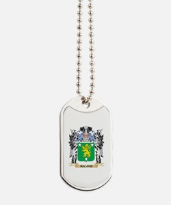 Malone Coat of Arms - Family Crest Dog Tags