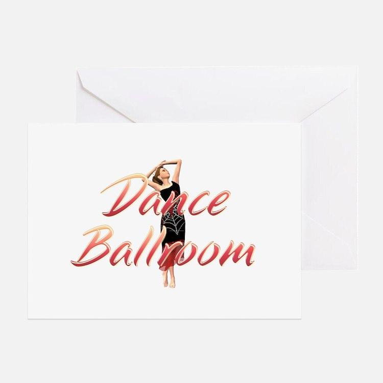 Dance Ballroom Greeting Card