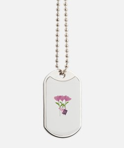 Cool Bright Monogram Dog Tags