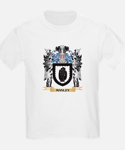Manley Coat of Arms - Family Crest T-Shirt