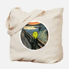 Smiley Scream Tote Bag