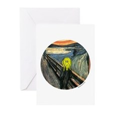 Smiley Scream Greeting Cards (Pk of 20)