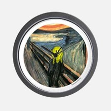 Smiley Scream Wall Clock