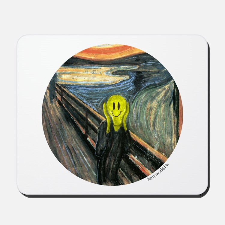 Smiley Scream Mousepad