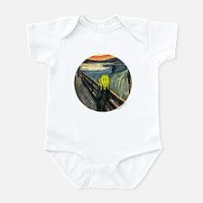 Smiley Scream Infant Bodysuit