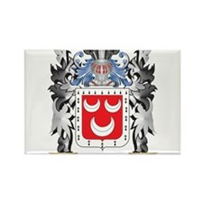 Mannin Coat of Arms - Family Crest Magnets