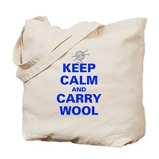 Unique Keep calm and carry yarn Tote Bag
