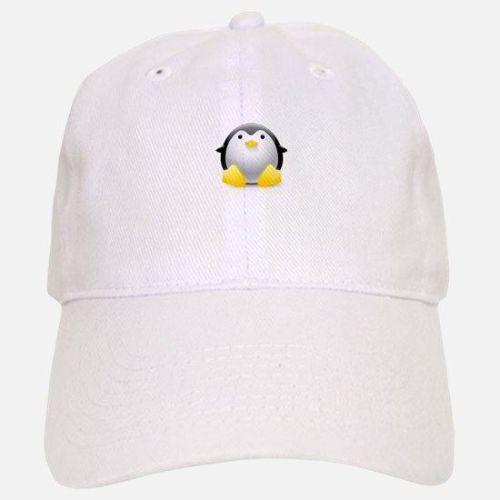 LINUX LOGO TUX PENGUIN Cap