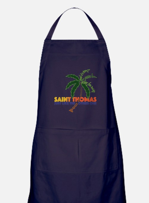 Cute St thomas Apron (dark)