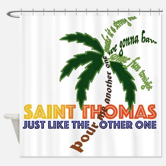 Unique Thomas Shower Curtain