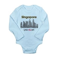 Singapore Long Sleeve Infant Bodysuit