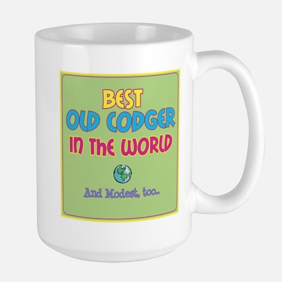Best Old Codger and Modest Mugs