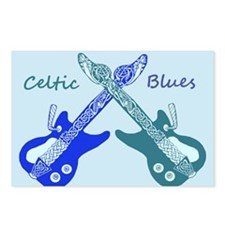 Celtic Blues Postcards (Package of 8)