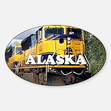 Alaska Railroad Sticker (Oval)