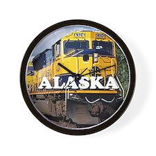 Alaska Railroad Wall Clock