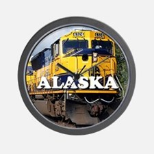Alaska Railroad Wall Clock