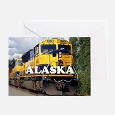 Alaska Railroad Greeting Card