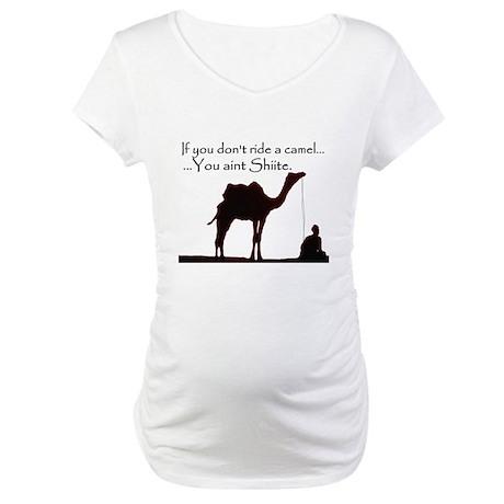 Shiite Camel - BLK - Maternity T-Shirt