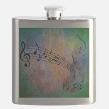 Abstract Music Flask