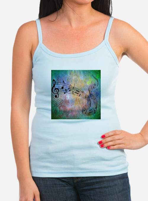 Abstract Music Tank Top