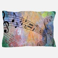 Abstract Music Pillow Case