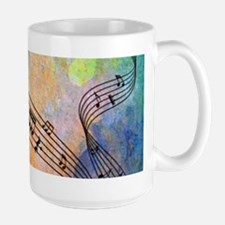 Abstract Music Mugs