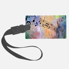 Abstract Music Luggage Tag