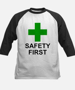 SAFETY FIRST - Kids Baseball Jersey