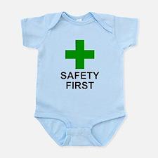 SAFETY FIRST - Infant Bodysuit