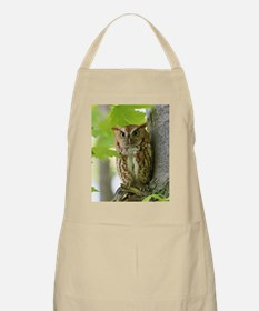 Red Sreech Owl Apron
