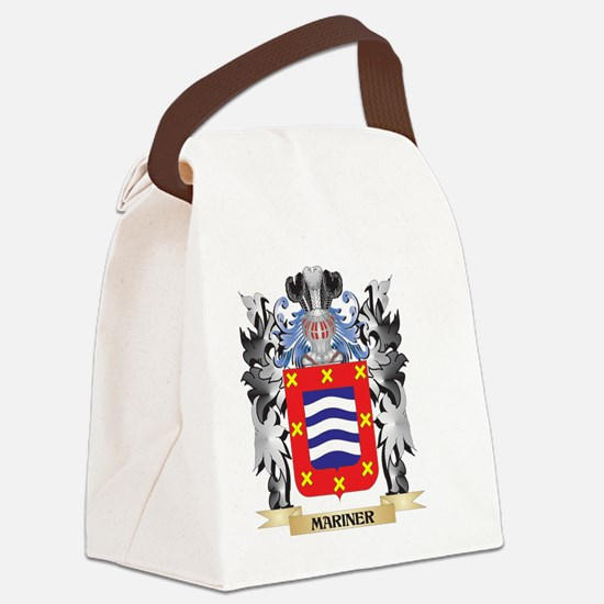 Mariner Coat of Arms - Family Cre Canvas Lunch Bag