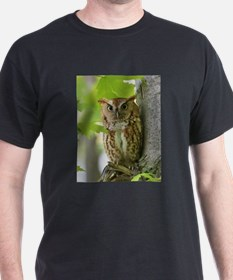 Red Sreech Owl T-Shirt