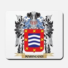 Marinucci Coat of Arms - Family Crest Mousepad