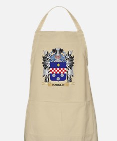 Marklin Coat of Arms - Family Crest Apron
