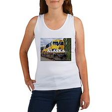 Alaska Railroad engine locomotive 2 Tank Top