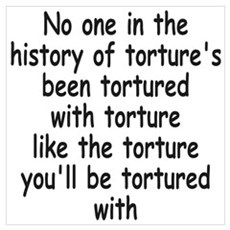 History of Torture 1 Canvas Art