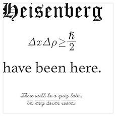 Heisenberg Quiz Poster