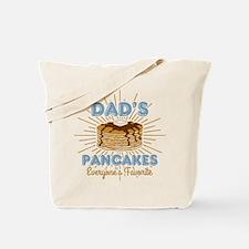 Dad's Pancakes Tote Bag