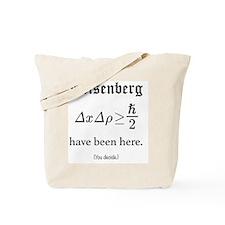 Heisenberg Observer Tote Bag