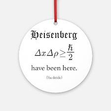 Heisenberg Observer Round Ornament