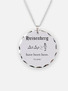 Heisenberg Observer Necklace