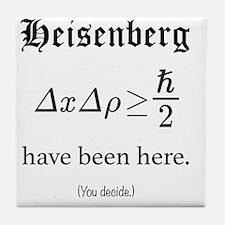 Heisenberg Observer Tile Coaster