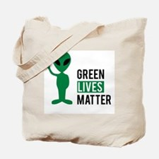 Green Lives Matter Tote Bag