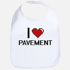 I Love Pavement Digital Design Bib