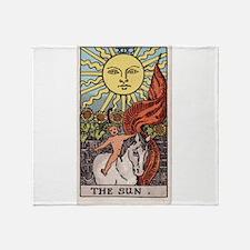 """""""The Sun"""" Throw Blanket"""
