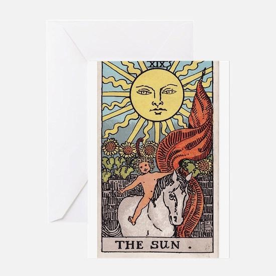 """""""The Sun"""" Greeting Card"""