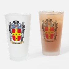 Martinez Coat of Arms - Family Cres Drinking Glass
