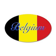 Belgium Flag Wall Sticker